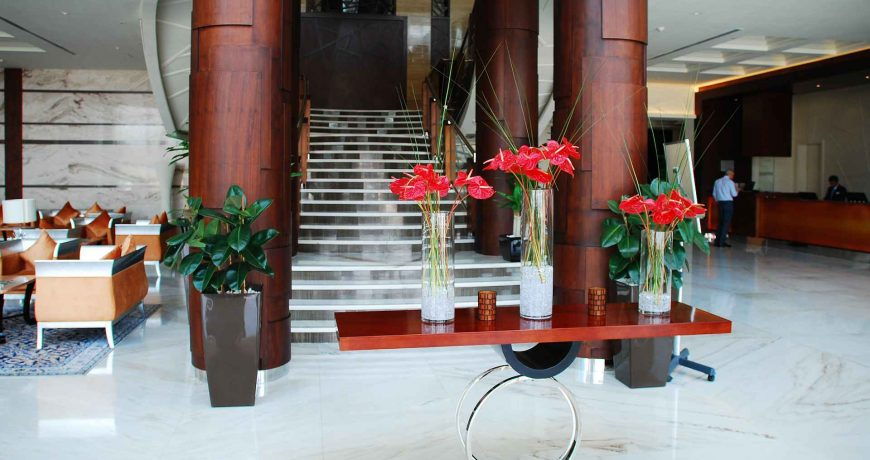 nettoyage espaces communs hotels