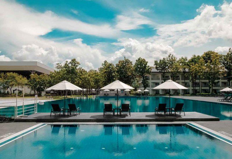 Nettoyage espaces extérieurs - piscine